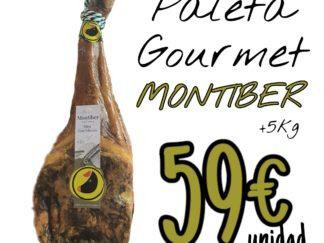 Oferta Paleta Gourmet Montiber