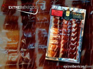 Jamón Ibérico de Bellota 100% al Corte, Cortado a Cuchillo, Envasado al Vacío