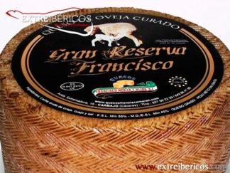Queso de Oveja Curado Francisco Gran Reserva Carbajo