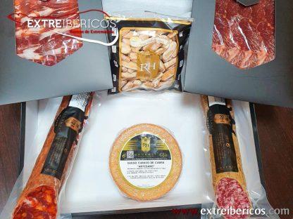 Caja de Lote de Ibéricos RH Gourmet