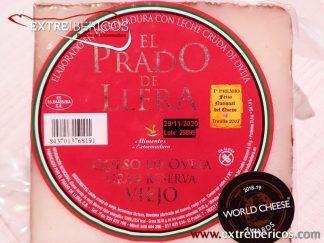 Cuña Queso de Oveja Gran Reserva Viejo El Prado de Llera