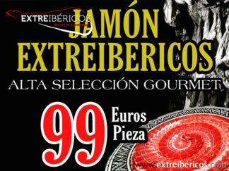 Oferta Jamón Alta Selección Gourmet 99 euros