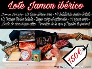 Lote Jamón Ibérico