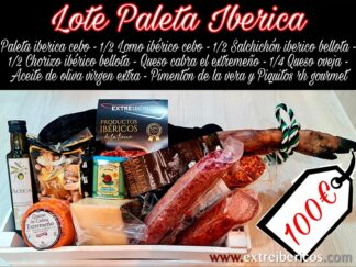 Lote Paleta Ibérica