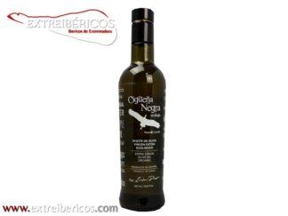 Aceite de Oliva Virgen Extra Ecológico Cigüeña Negra 500ml.